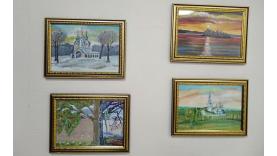 В общественном центре Перми открылись новые выставки художников Индустриального района